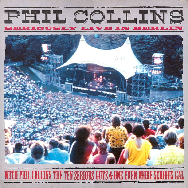 phil collins vid os seriously live in berlin. Black Bedroom Furniture Sets. Home Design Ideas